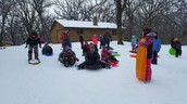 4th Graders Sledding!