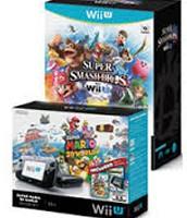 Super Mario 3D World Wii U 32GB Deluxe Console + Super Smash Bros.