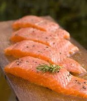 Oily fish (Salmon)