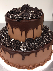 melted chocolate cake $3.50