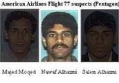 Flight 77 hijackers.