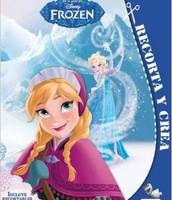 Me gustaría un libro Frozen: Incluye recortables y pegatinas (Recorta y crea). Es divertido y cuesta cinco euros.