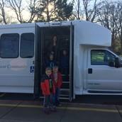 1st graders made a visit to Laurel Lake.