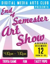 Free Art Show! December 12th