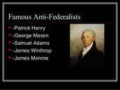More famous anti-federalists
