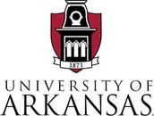 # 1 University of Arkansas