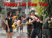 Happy Laos New Year!