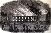 Harpers Ferry Attack Oct. 16 1859