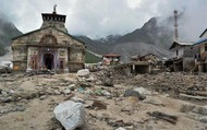 Uttarakhand temple after flood