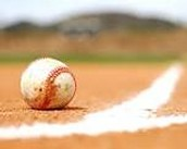 ball on first base line