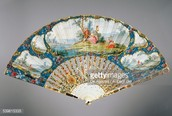 Hand fan From the 18th century