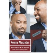 And Then You Know - $14.00, paperback