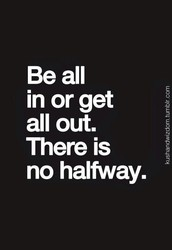 Be all in. Not just for fall, always! :)