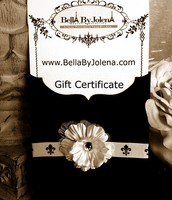 Beautiful Gift Certificates