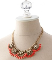 SOLD: Coral Cay Necklace $49