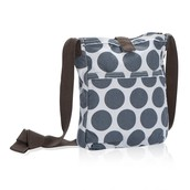 Retro Metro Crossbody - Grey Mod Dot