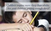 Is your child getting 10-11 hours of sleep each night?