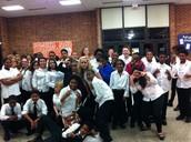 7th Grade Chorus Students