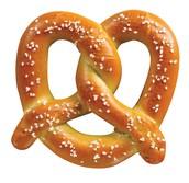 Who created the pretzel?
