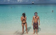 Snorkeling in Half Moon Cay