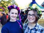 Mi amiga Carly y yo