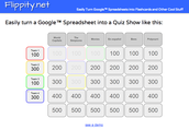 How to Create a Jeopardy Style Game in Google Sheets!