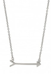 On the Mark Necklace - Silver