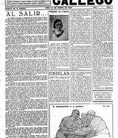 Debuxos na prensa: El pueblo gallego.