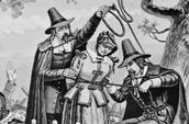 George Corwin hanging an innocent lady