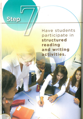 Step 7 - Have Students Participate in Structured Reading/Writing Activites