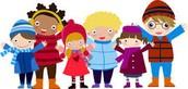Outdoor recess unless it's below 32 degrees