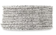 Bardot Spiral Bangle - Silver