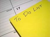 Principal To Do List