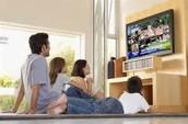 mirar la television