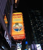Bubba Gump Out Door