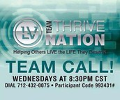 THRIVE NATION Team Call