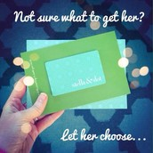 To Many Options? Gift Cards are always perfect gifts!