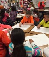 5th graders are leaders in teaching 3rd graders!