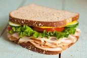 Turkey on Wheat Bread