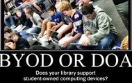 Student Devices in the Library