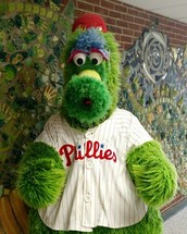 Phanatic About Reading! - Phillie Phanatic Comes to Buckingham!