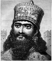 King Nebopolassar of the Chaldeans