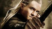 Legolas Greenlead as Orlando Bloom