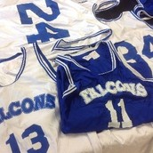 Retired Basketball Uniforms