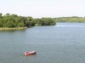 Alvin fishing lake