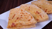 Stuffed Indian flat bread