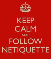 Rule: 1 Netiquitte