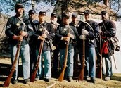The Massachusetts 54th volunteers for the attack on fort wagner