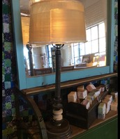 4-Gear Lamp by Salvage Arts - $275