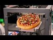 3D printed food.